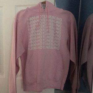 Pink Hotline Bling Hoodie
